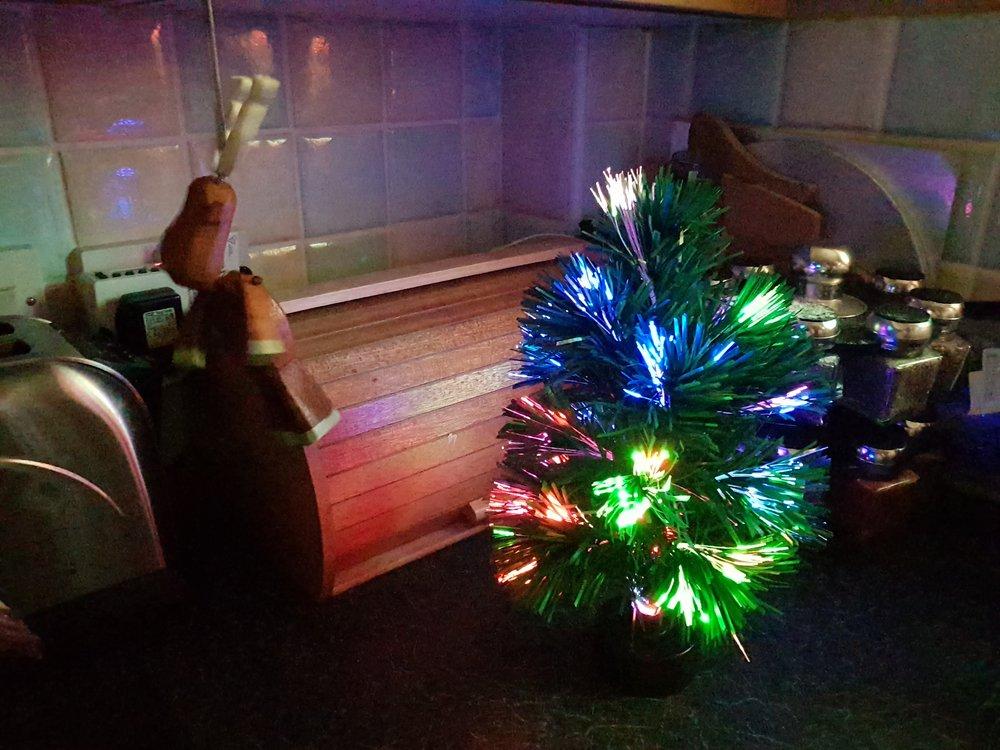 Fibre optic Christmas
