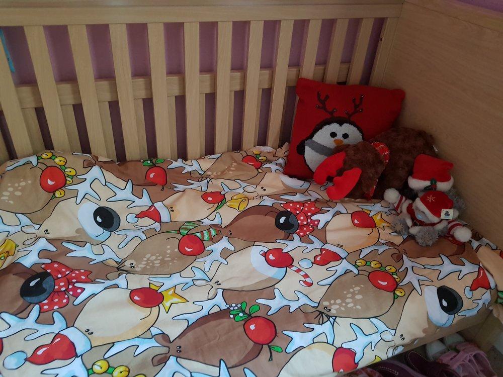 Reindeer bed linen
