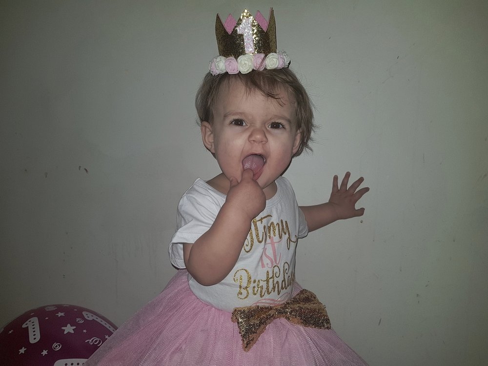 Little L's first birthday