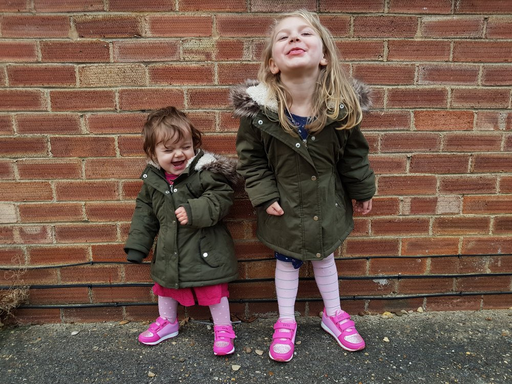 cheeky children!