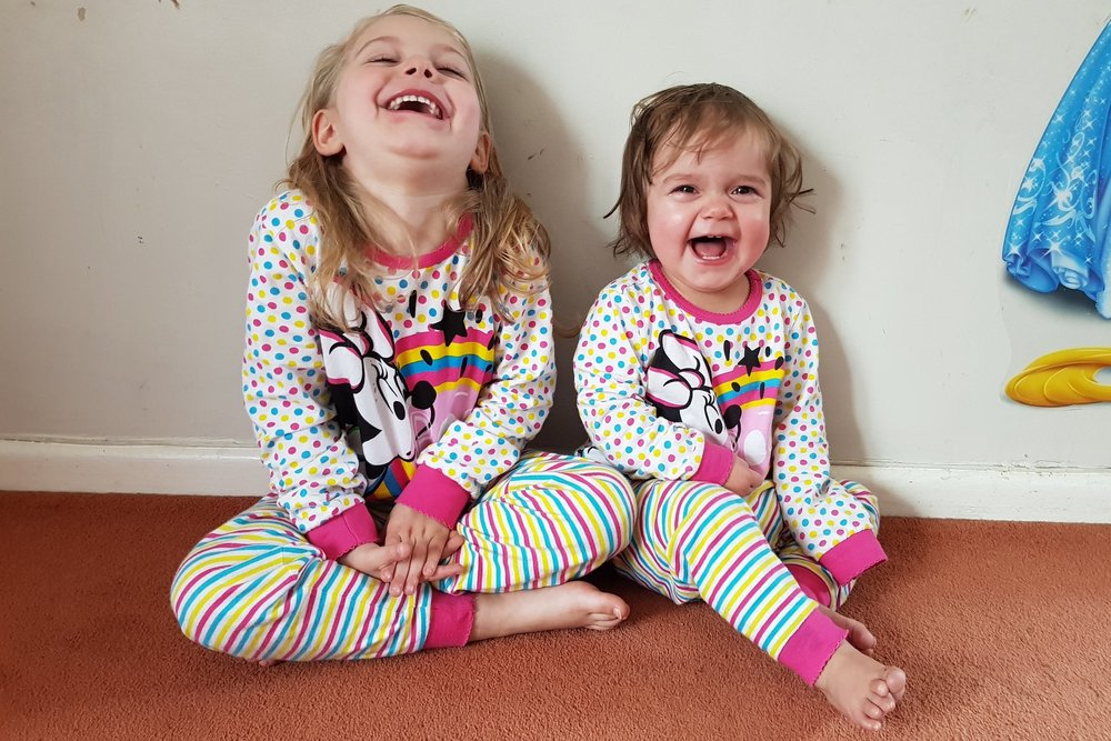 Children's laughter, because laughter is the best medicine