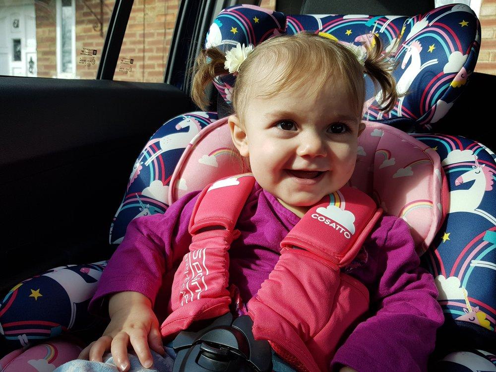 Cosatto Unicorn children's car seat