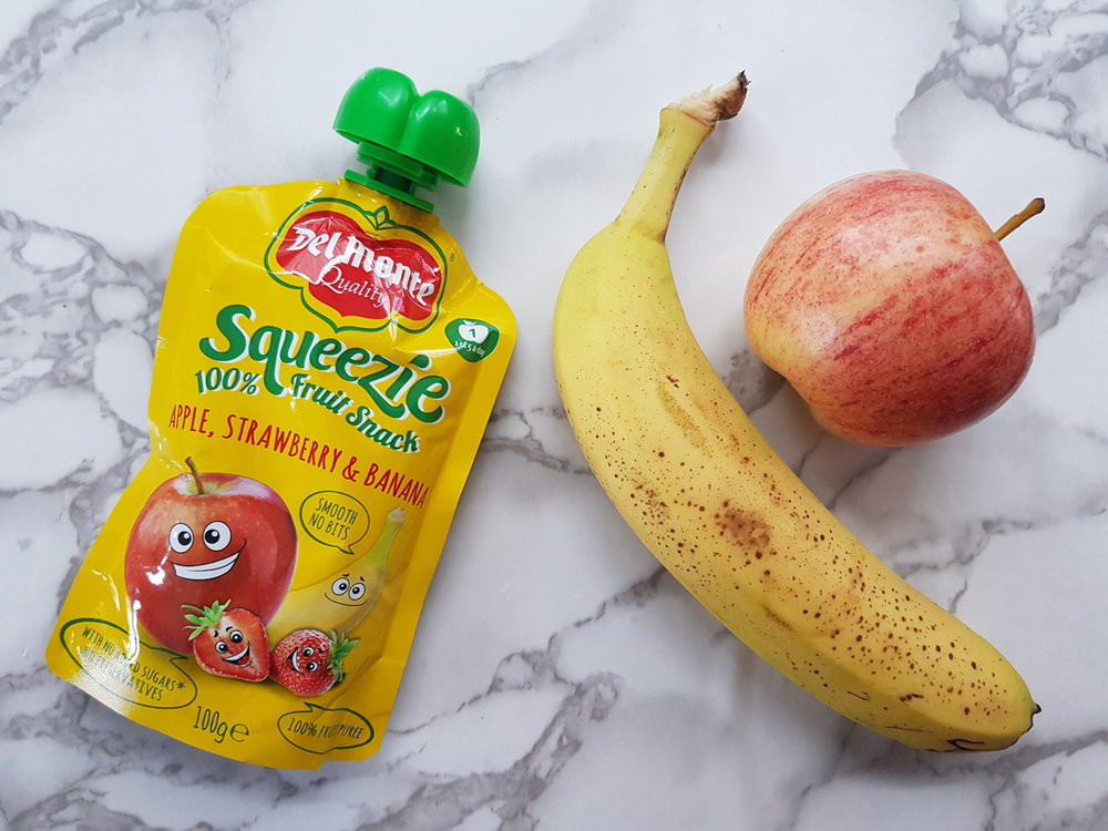 Del Monte Squeezie Apple, strawberry and banana