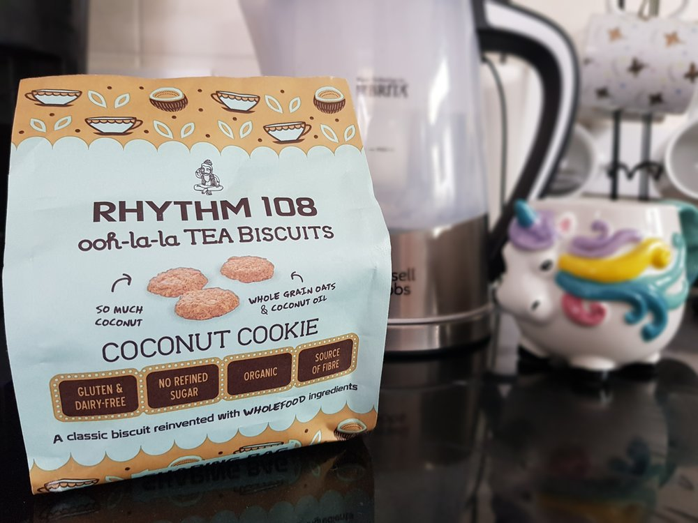 Rhythm 108 coconut cookie tea biscuits
