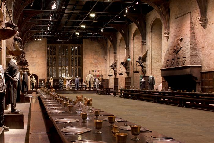 Warner Bros Studio Tour Hogwarts Great Hall