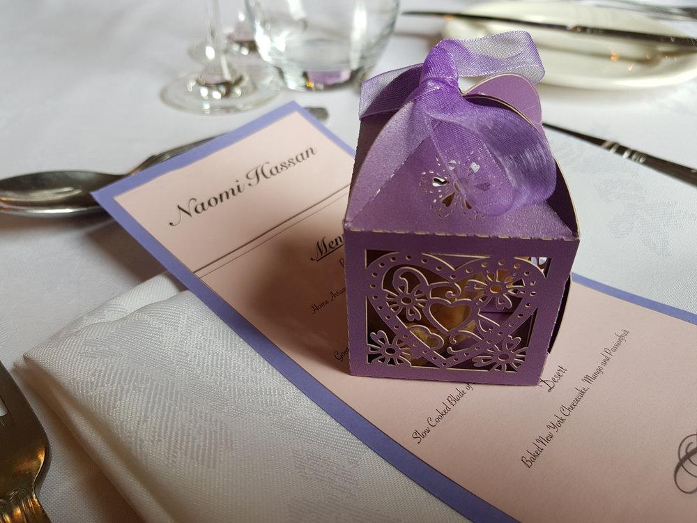Wedding photo ideas: wedding breakfast table place settings