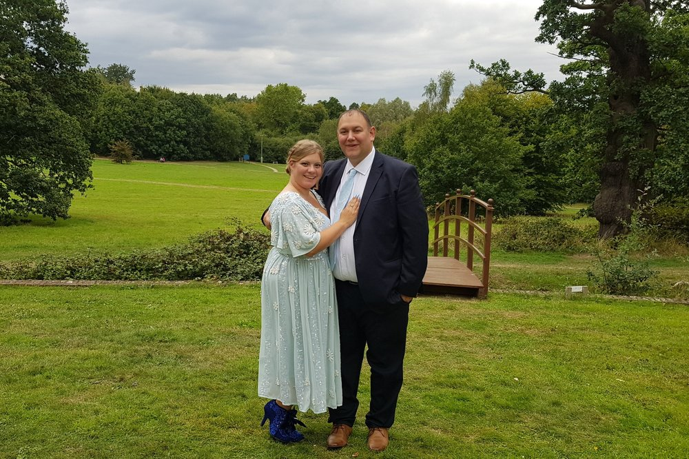 Couple styling with the SENCHAEmbellished Midi Dress from ELVI