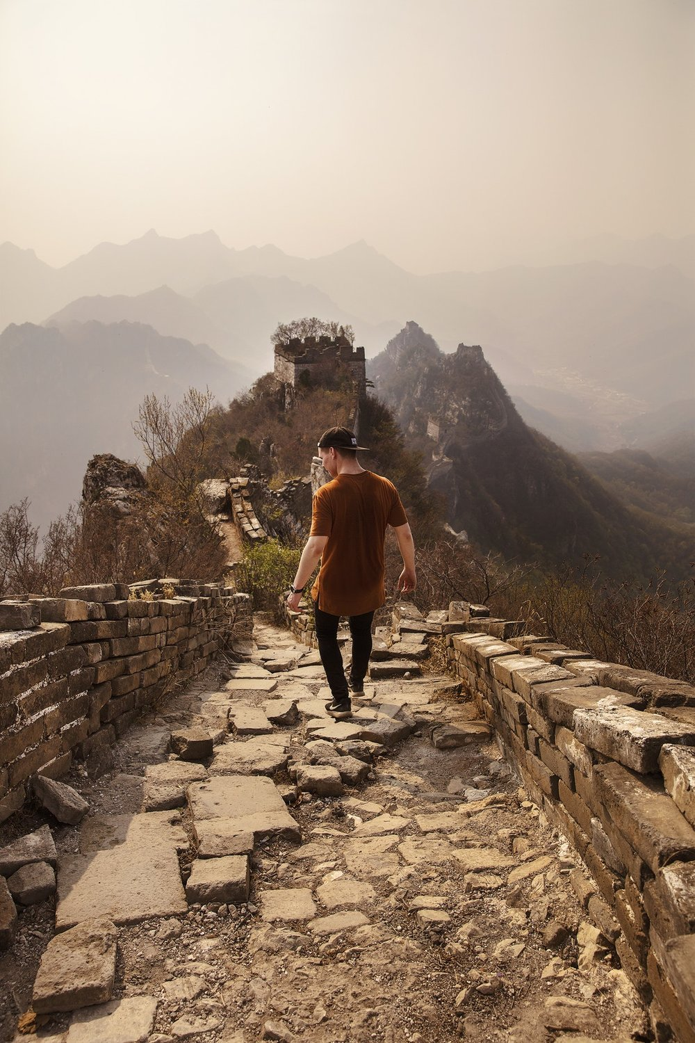 The Great Wall of China by Joshua Earle via Unsplash