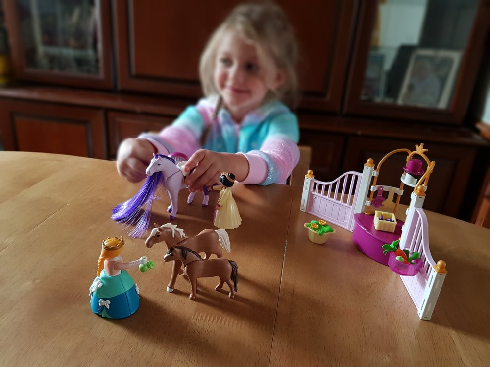 Playmobil Princess 6855 Me Becoming Mum's Christmas Gifts for Four Year Olds