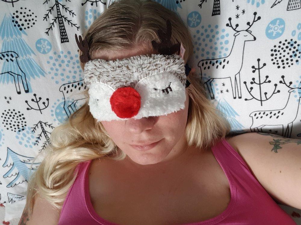 Hunkemoller reindeer eye mask Christmas stocking fillers for her