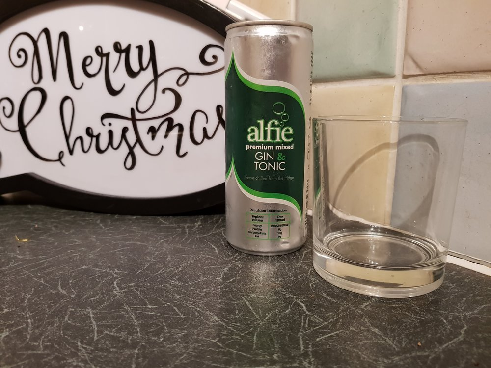 Gin and tonic can Christmas stocking fillers for her