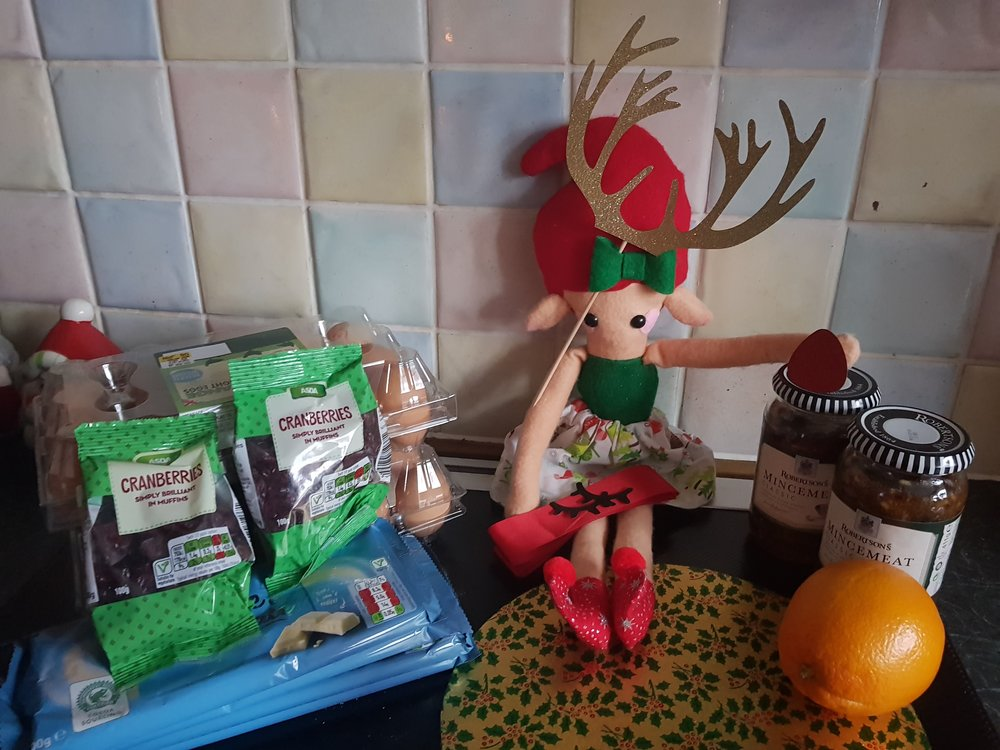 Elf on a Shelf December 23rd Baking Day
