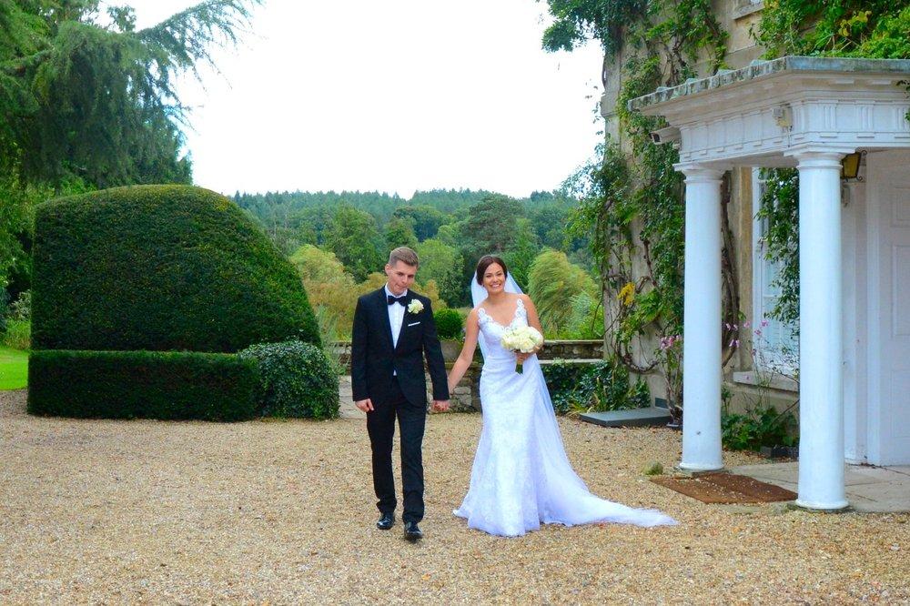 Joshua and Johana's wedding day September 2017