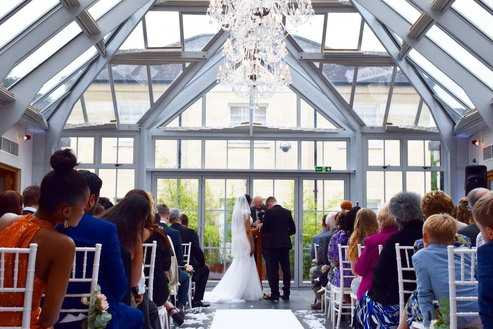 Samuel and Megan's wedding September 2018