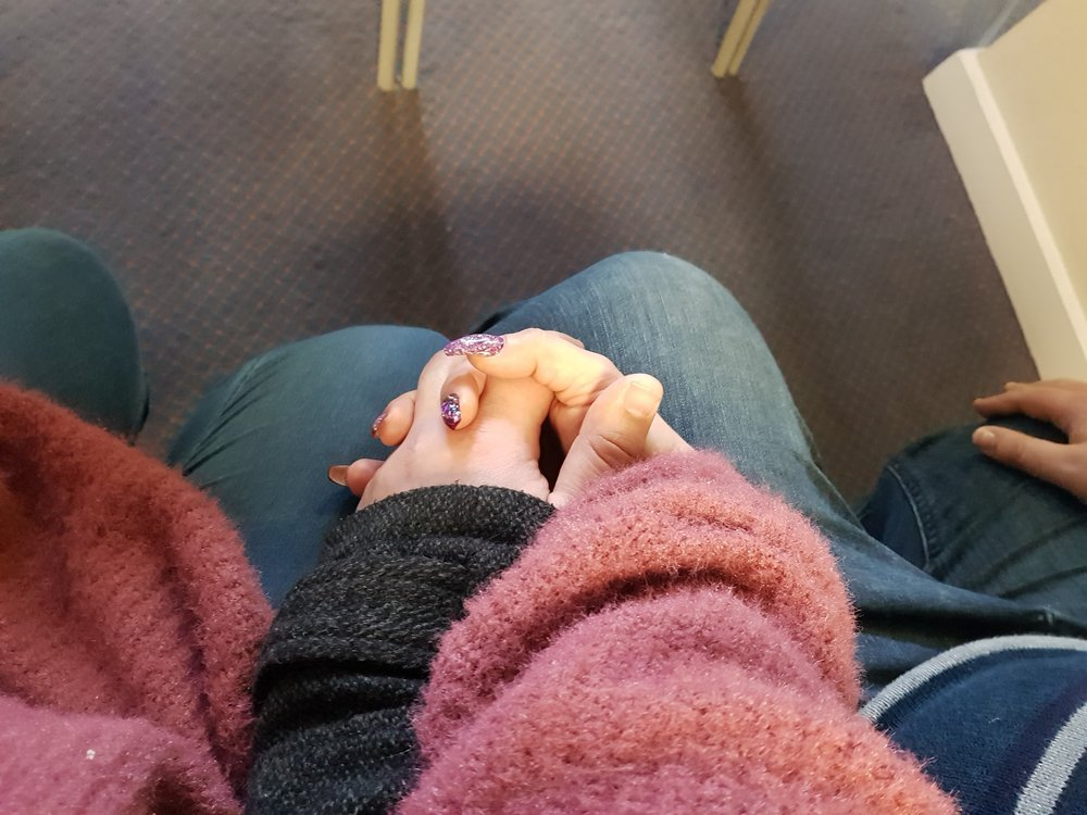 Hold my hand and support me through my darkest hour