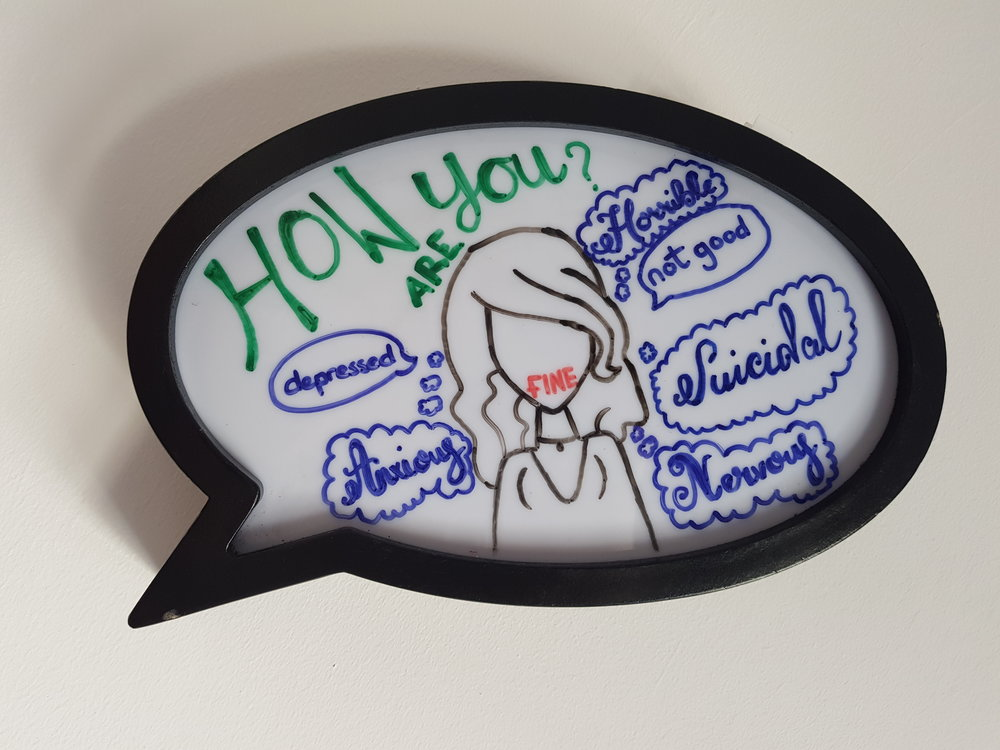 How are you? #mentalhealthawareness