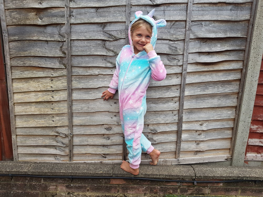 Primark Unicorn Onesie Me Becoming Mum's Christmas Gifts for Four Year Olds