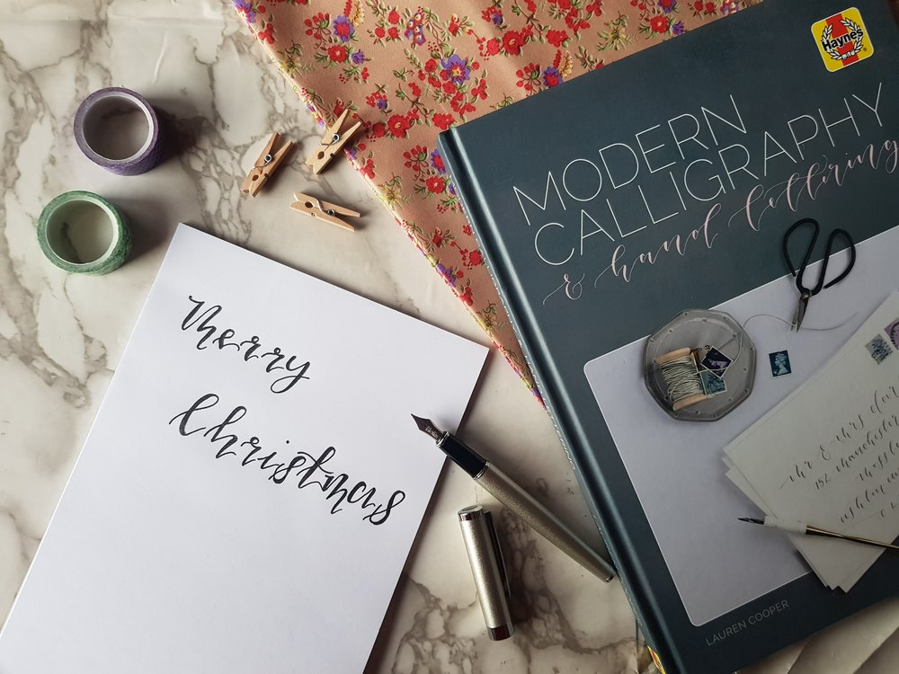 Haynes Modern Calligraphy and Hand Lettering Manual Me Becoming Mum's Christmas Gift Ideas for Her