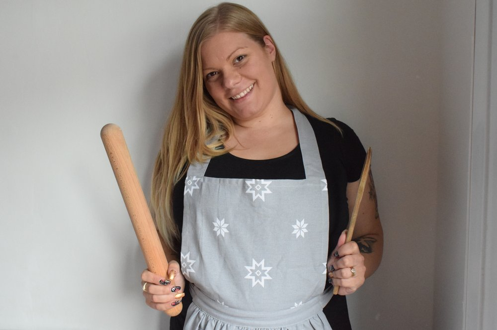 Ragge Rose Christmas retro apron