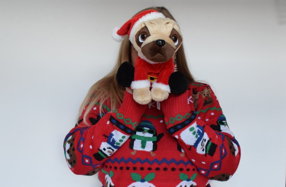 Clintons Pugsley Santa Me Becoming Mum's Christmas Gifts for Four Year Olds