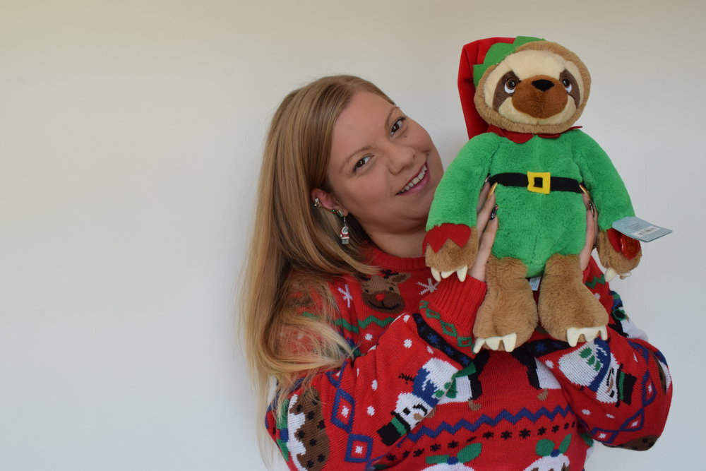 Sloth Elf from Clintons Me Becoming Mum's Christmas Gifts for Two Year Olds