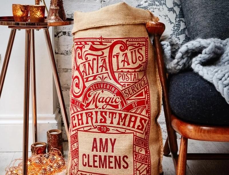 Prezzybox personalised Christmas sack