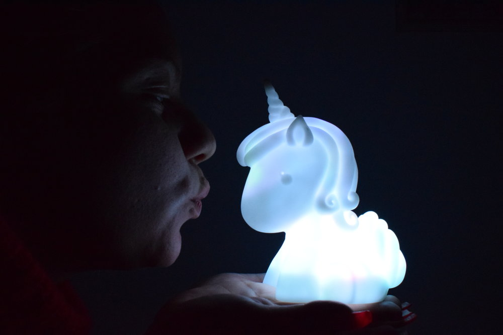 Unicorn Mood Light from Menkind Me Becoming Mum's Stocking Fillers for Under 5s