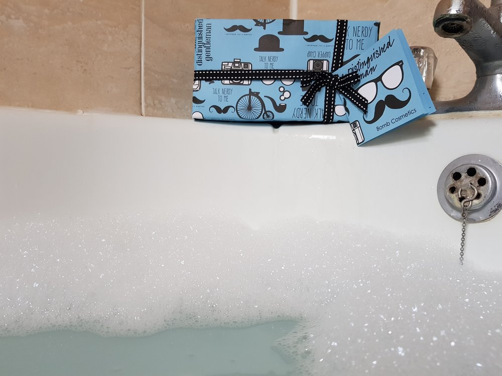 Bomb Cosmetics Bath Gift Set from Find Me a Gift Me Becoming Mum's Stocking Fillers for Him