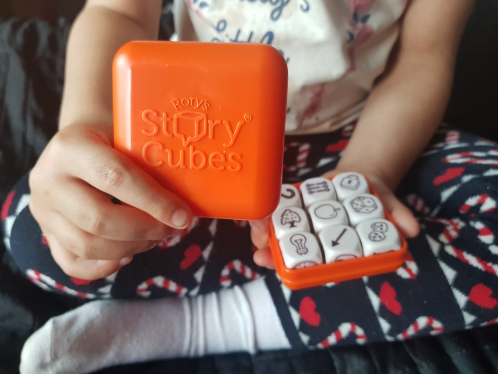 Rory's Story Cubes Me Becoming Mum's Christmas Gifts for Four Year Olds