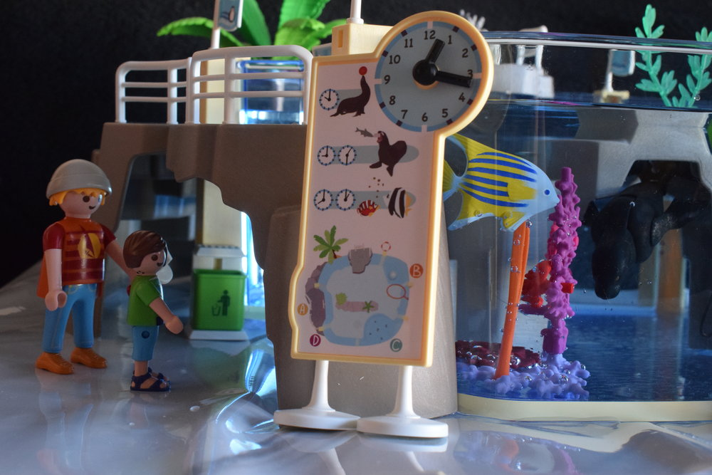 Playmobil 9060 Aquarium Me Becoming Mum's Christmas Gifts for Four Year Olds