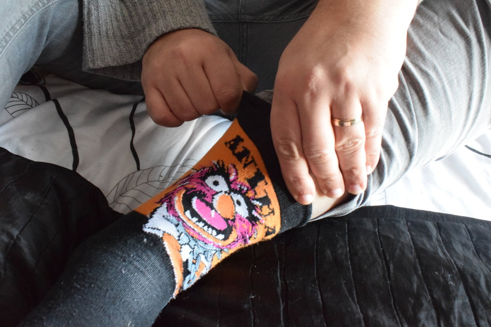 Animal Muppet Socks from Primark Me Becoming Mum's Stocking Fillers for Him