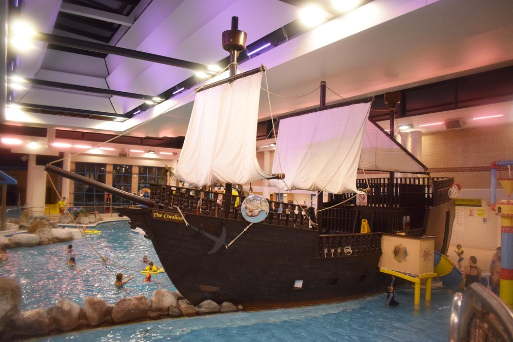 Coral Reef Waterworld in Bracknell Pirate Ship