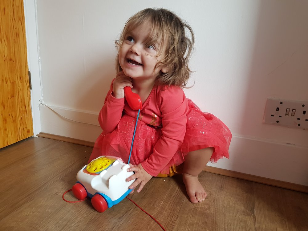 Fisher Price Pull-Along Telephone Me Becoming Mum's Christmas Gifts for Two Year Olds