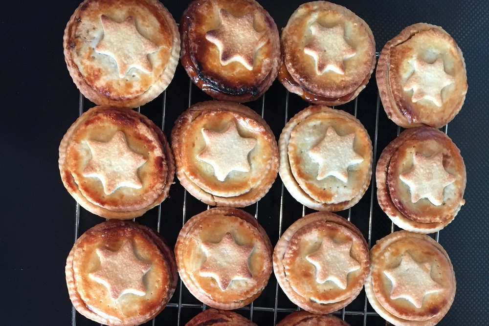 Homemade minepies for Christmas