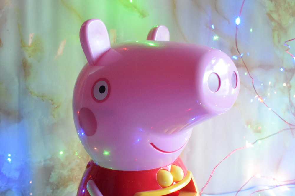Count with Peppa interactive money box Peppa Pig toy