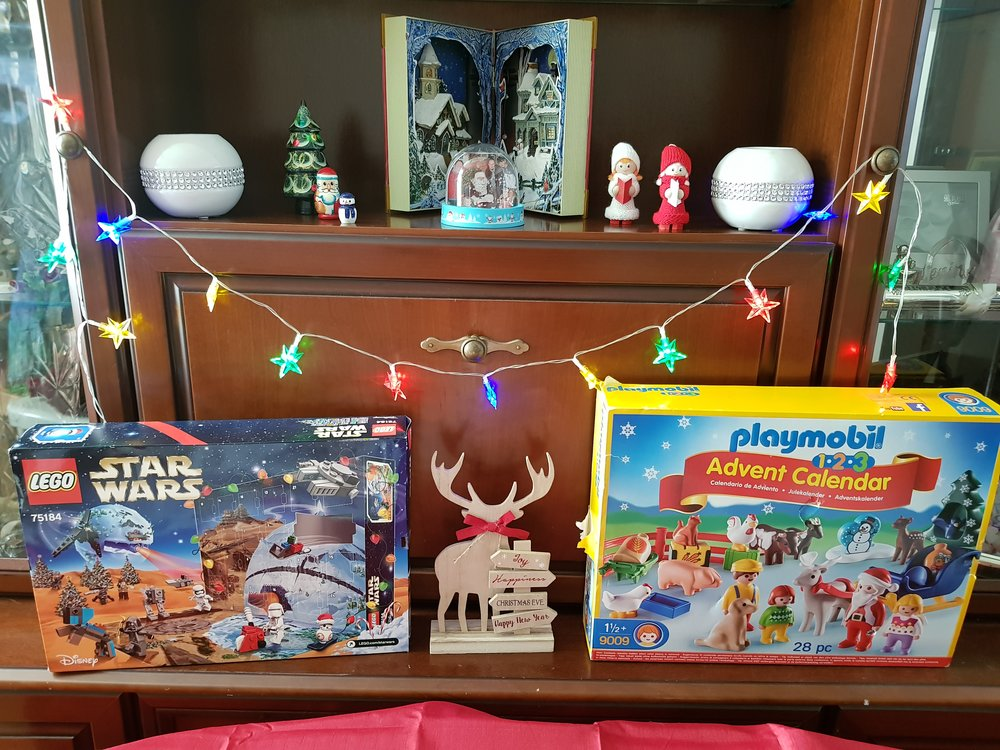 Counting down to Christmas with Lego and Playmobil advent calendars