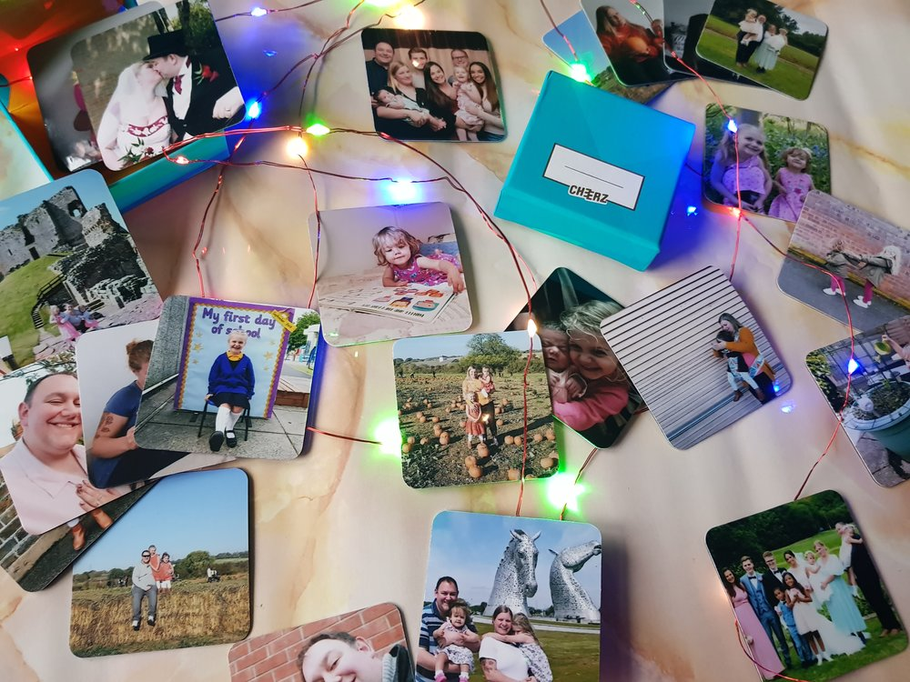 Cheerz photo magnets Me Becoming Mum's Stocking Fillers for Him