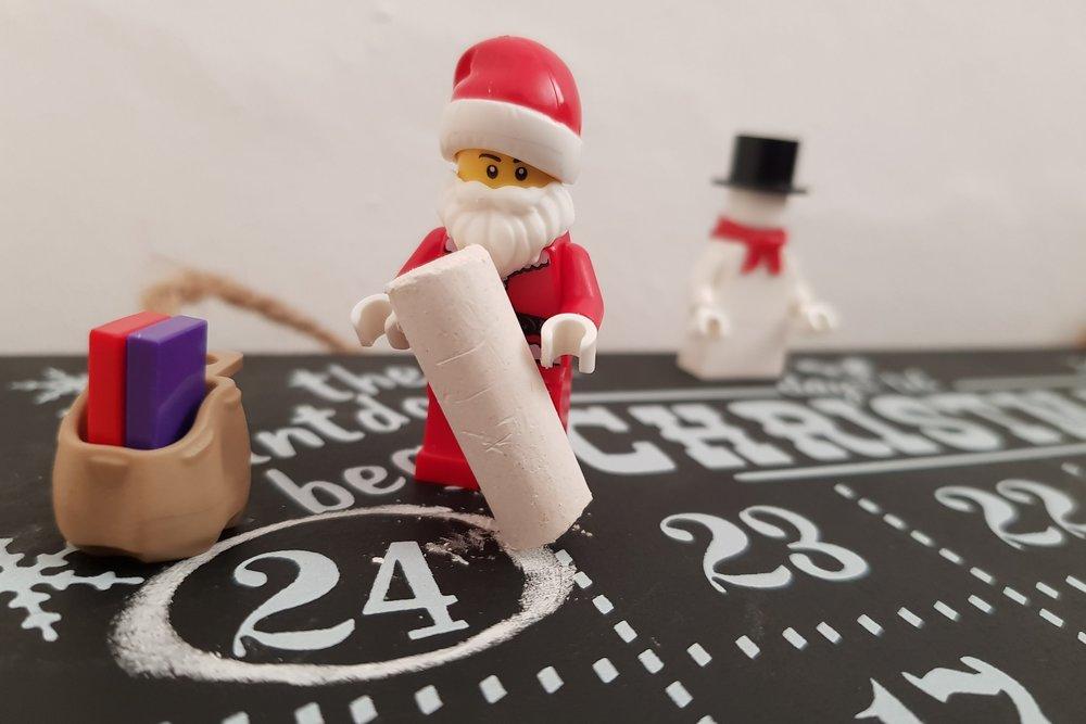 Santa Lego mini figure Me Becoming Mum's Stocking Fillers for Him