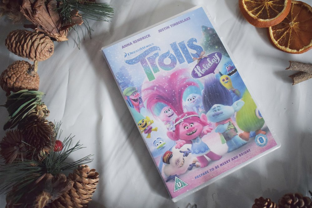 Trolls Holiday DVD