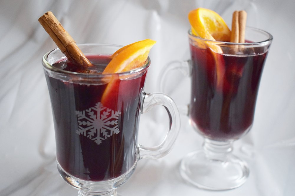 Mulled wine Christmas recipe