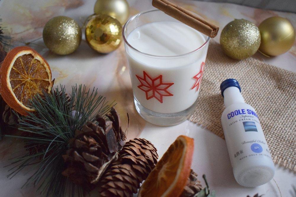 Eggnog Christmas cocktail recipe