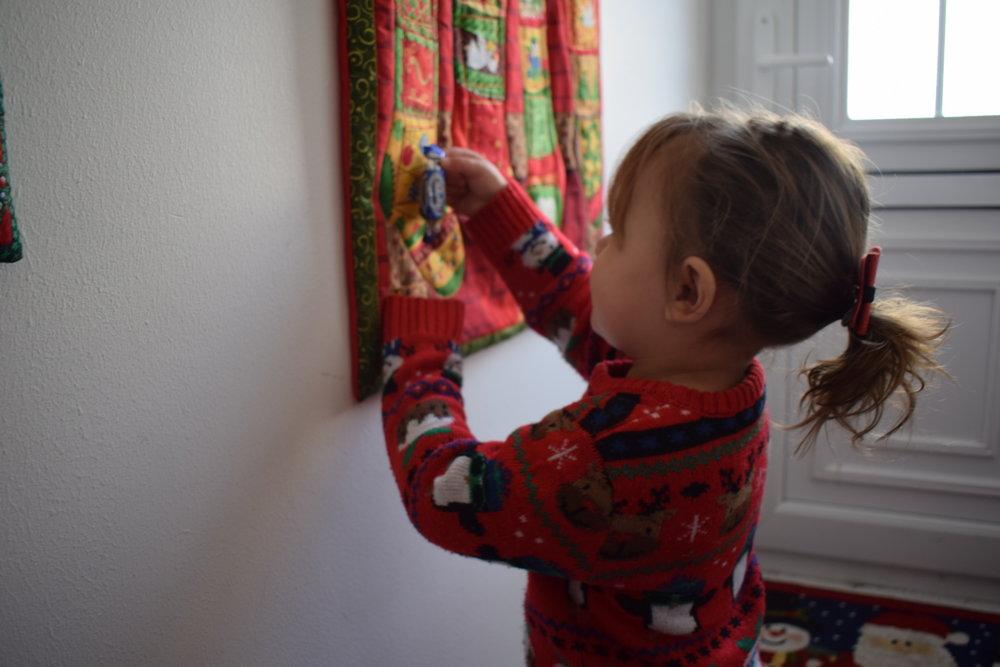 Handmade Advent calendars for Christmas