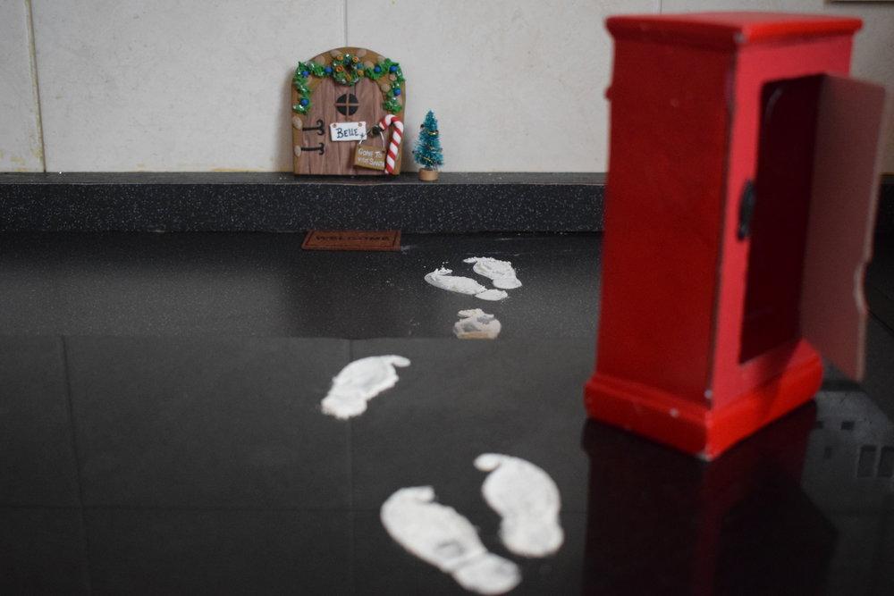 Elf on the Shelf gone to see Santa