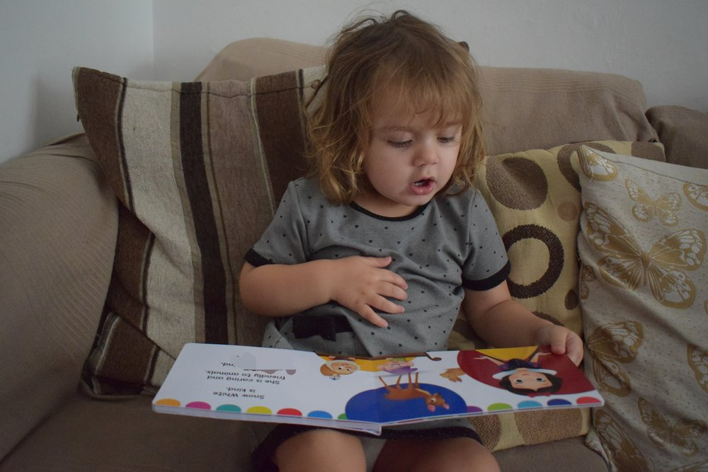 Personalised Princess book from In the Book