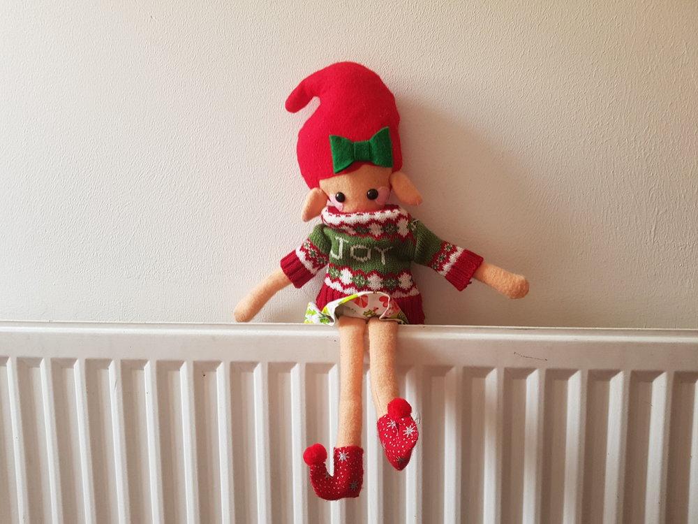 Elf on the Shelf Christmas jumper day