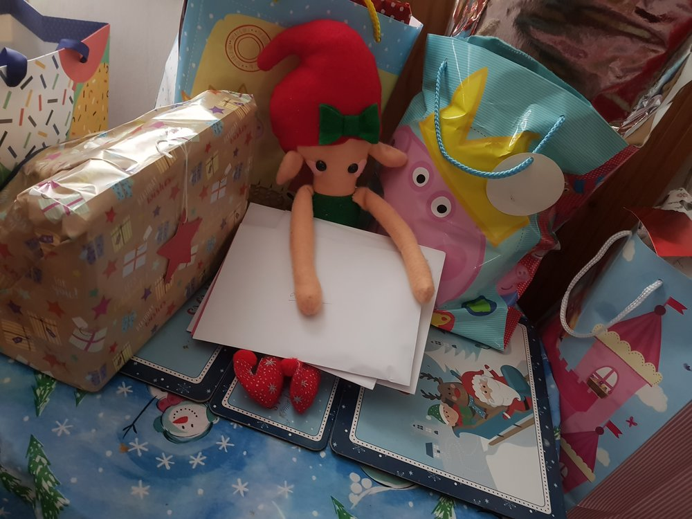 Elf on the Shelf Pickle's birthday