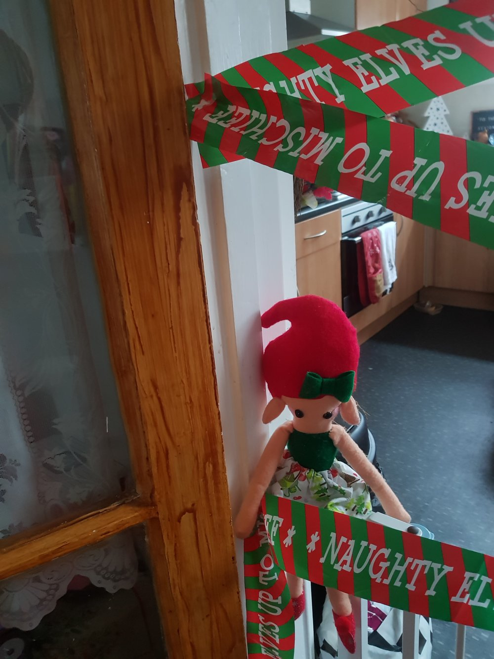 Elf on the Shelf elf tape