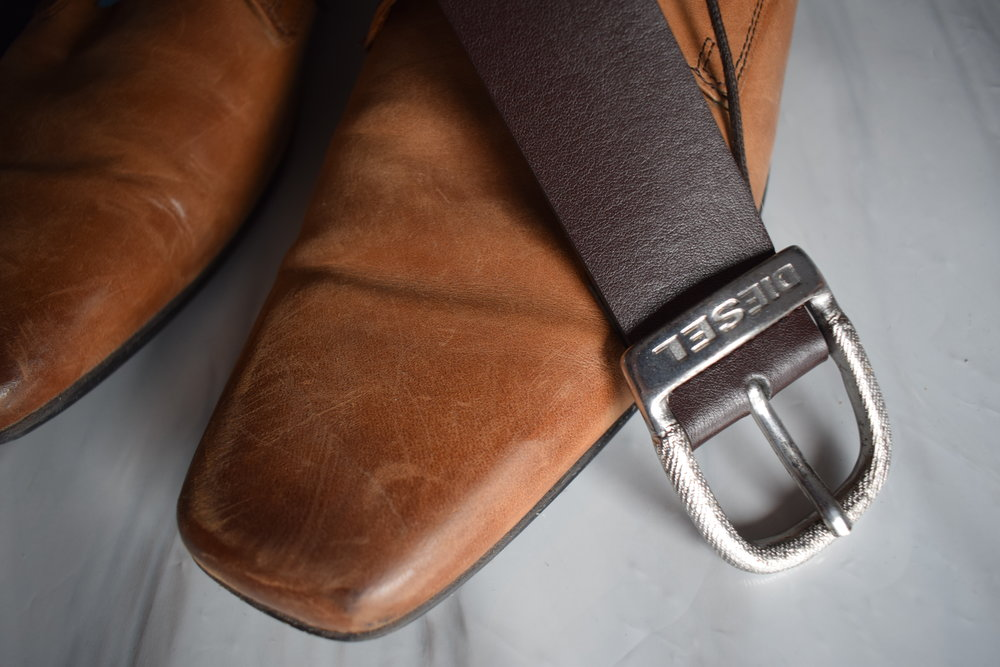 2019 Valentine's Day gifts Diesel belt from Mainline Menswear