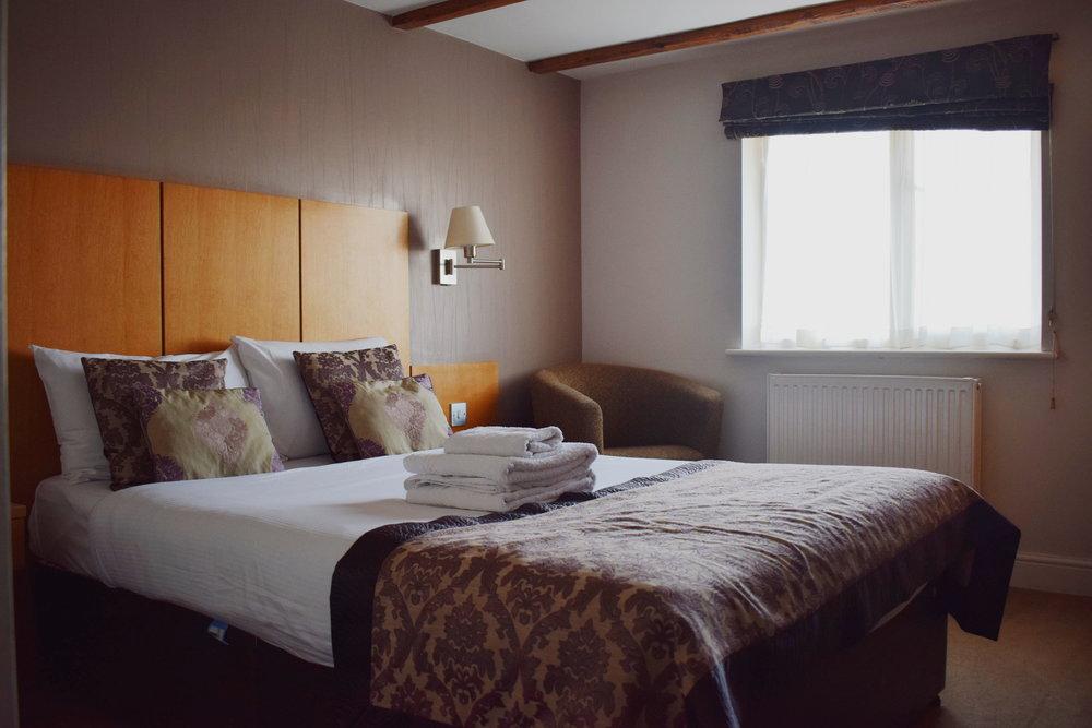 Red Letter Days UK voucher: The Fox Country Inn inside the room