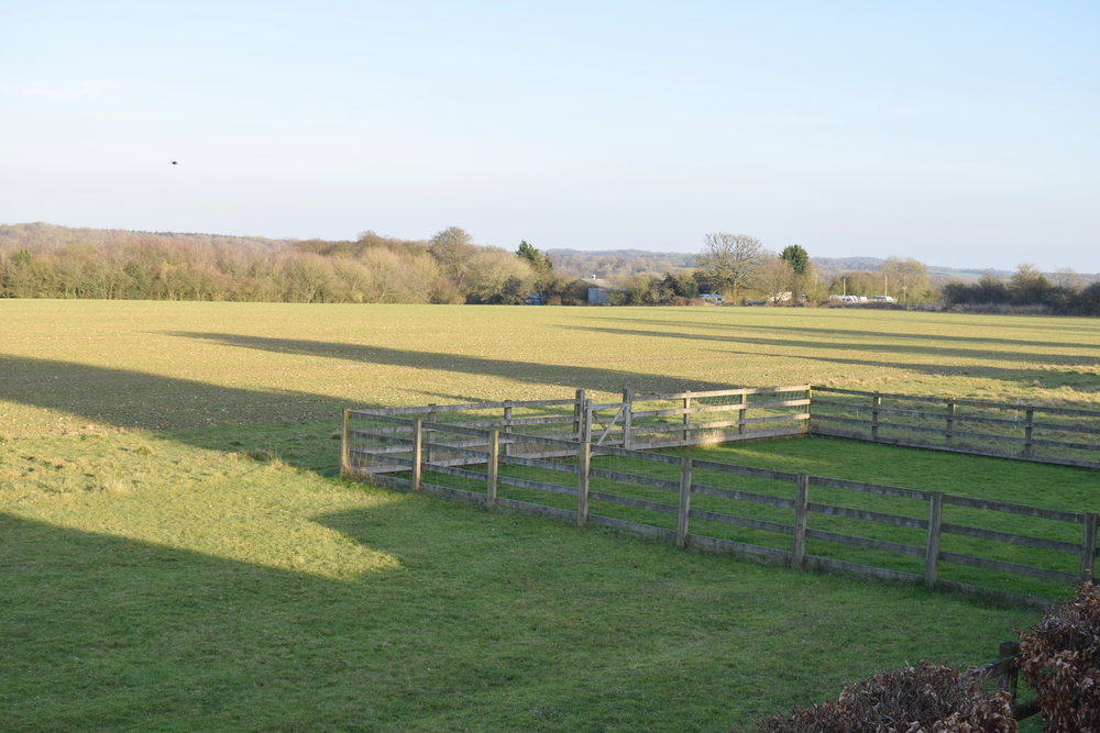 Red Letter Days UK voucher: The Fox Country Inn countryside view